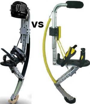 Poweriser vs 7league Boots - značky skákacích bot